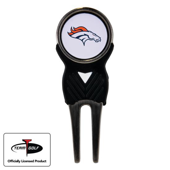 Classic Denver Broncos Divot Tool