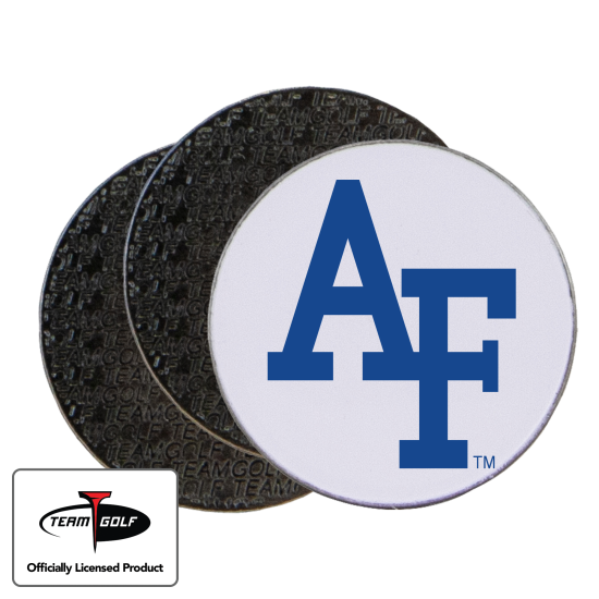 Classic Air Force Falcons Ball Markers - 3 Pack