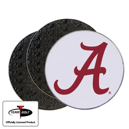 Classic Alabama Crimson Tide Ball Markers - 3 Pack