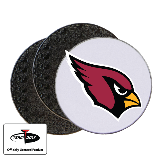 Classic Arizona Cardinals Ball Markers - 3 Pack