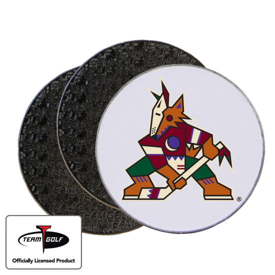 Classic Arizona Coyotes Ball Markers - 3 Pack