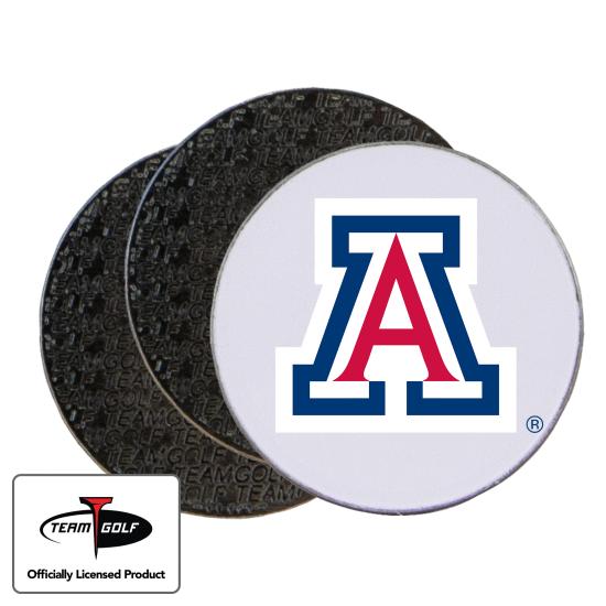 Classic Arizona Wildcats Ball Markers - 3 Pack