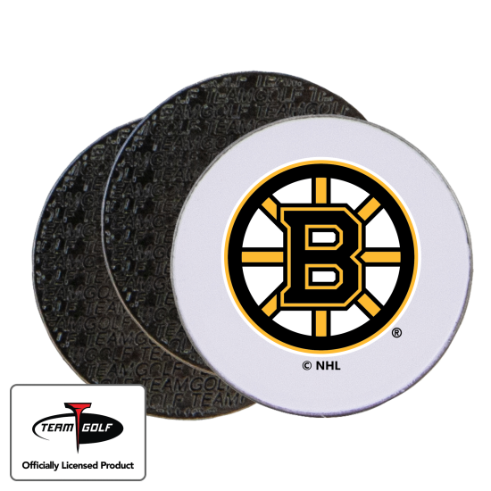 Classic Boston Bruins Ball Markers - 3 Pack