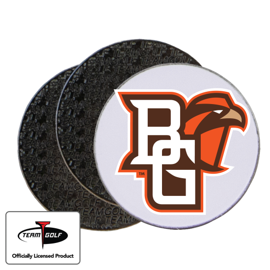 Classic Bowling Green Falcons Ball Markers - 3 Pack