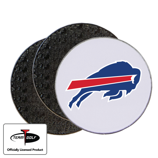 Classic Buffalo Bills Ball Markers - 3 Pack