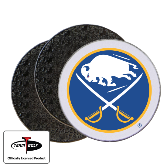 Classic Buffalo Sabres Ball Markers - 3 Pack