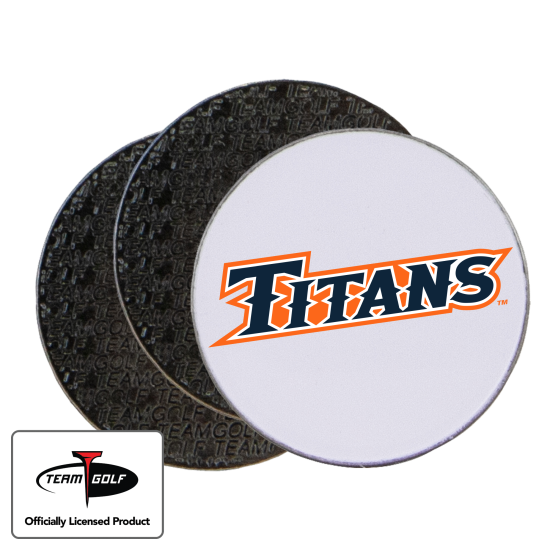 Classic Cal State Fullerton Titans Ball Markers - 3 Pack