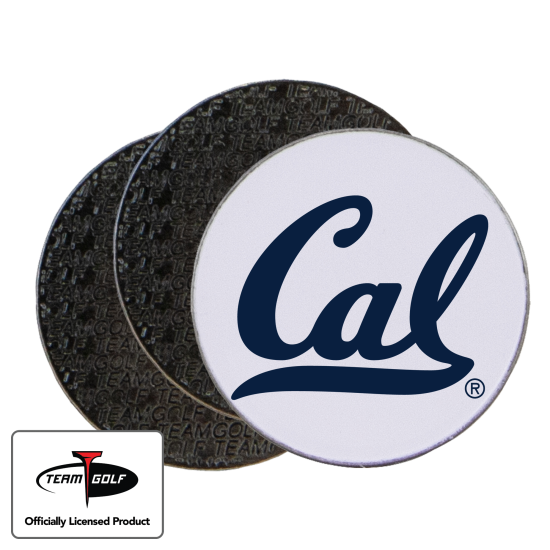 Classic California Golden Bears Ball Markers - 3 Pack