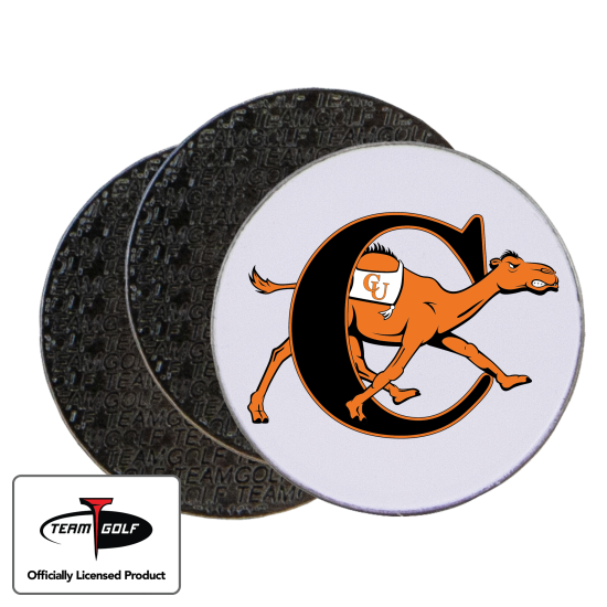 Classic Campbell Fighting Camels Ball Markers - 3 Pack