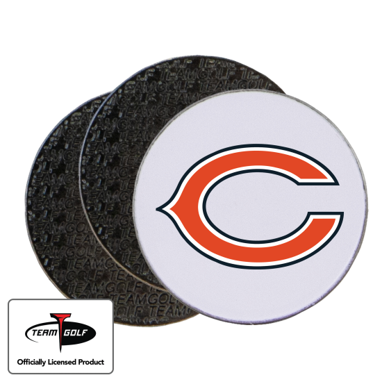 Classic Chicago Bears Ball Markers - 3 Pack