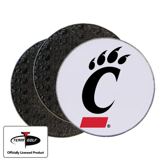 Classic Cincinnati Bearcats Ball Markers - 3 Pack