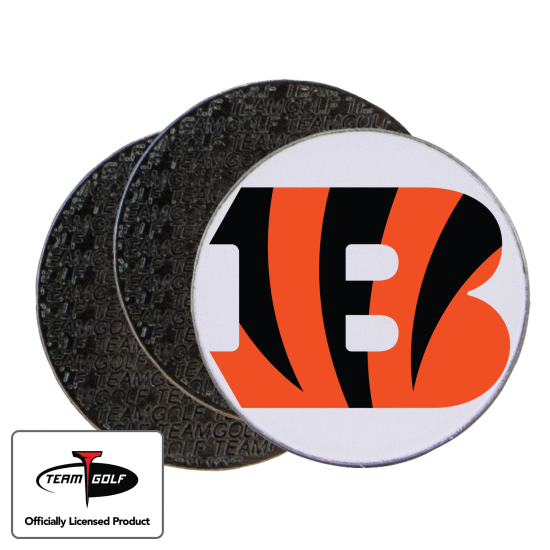 Classic Cincinnati Bengals Ball Markers - 3 Pack