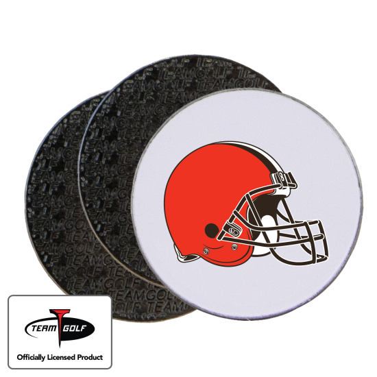 Classic Cleveland Browns Ball Markers - 3 Pack