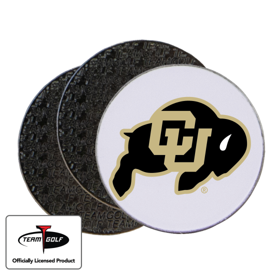 Classic Colorado Buffaloes Ball Markers - 3 Pack