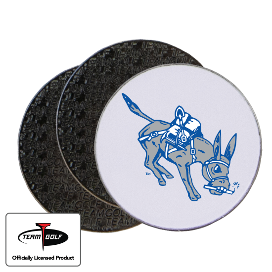 Classic Colorado School of Mines Orediggers Ball Markers - 3 Pack