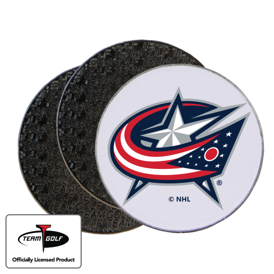 Classic Columbus Blue Jackets Ball Markers - 3 Pack