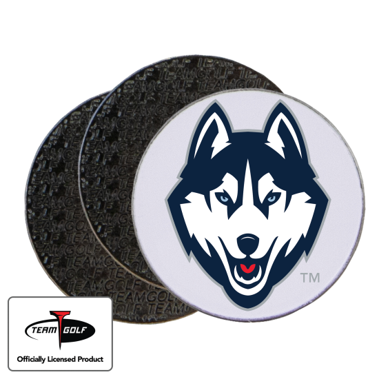 Classic UConn Huskies Ball Markers - 3 Pack