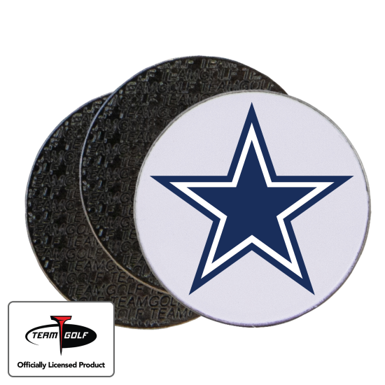 Classic Dallas Cowboys Ball Markers - 3 Pack
