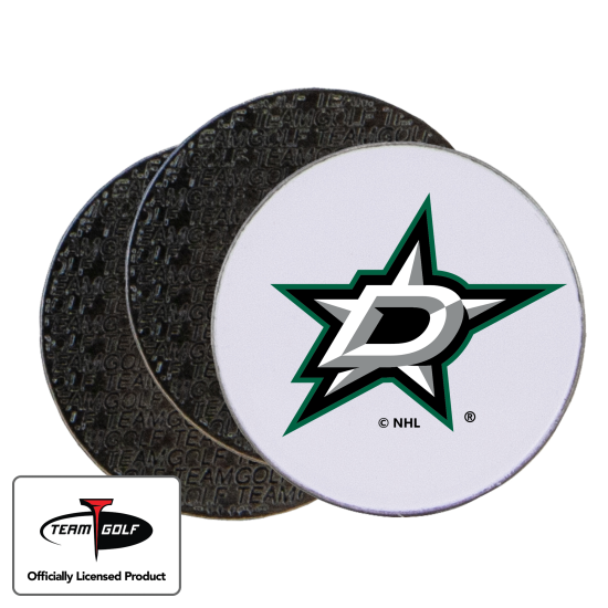 Classic Dallas Stars Ball Markers - 3 Pack