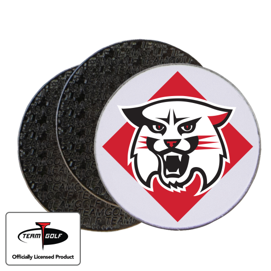 Classic Davidson Wildcats Ball Markers - 3 Pack