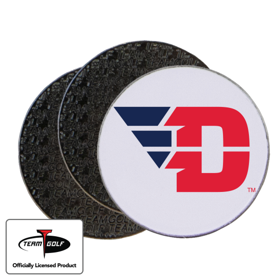 Classic Dayton Flyers Ball Markers - 3 Pack