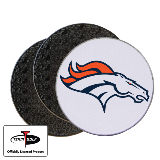 Classic Denver Broncos Ball Markers - 3 Pack