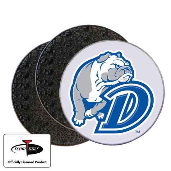 Classic Drake Bulldogs Ball Markers - 3 Pack