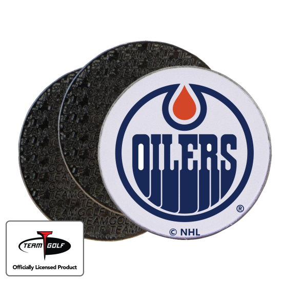 Classic Edmonton Oilers Ball Markers - 3 Pack