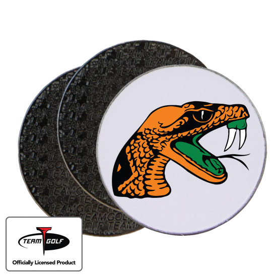 Classic Florida A&M Rattlers Ball Markers - 3 Pack