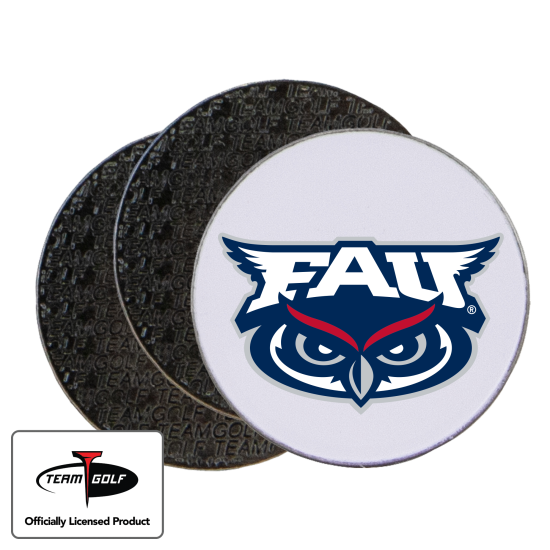 Classic Florida Atlantic Owls Ball Markers - 3 Pack