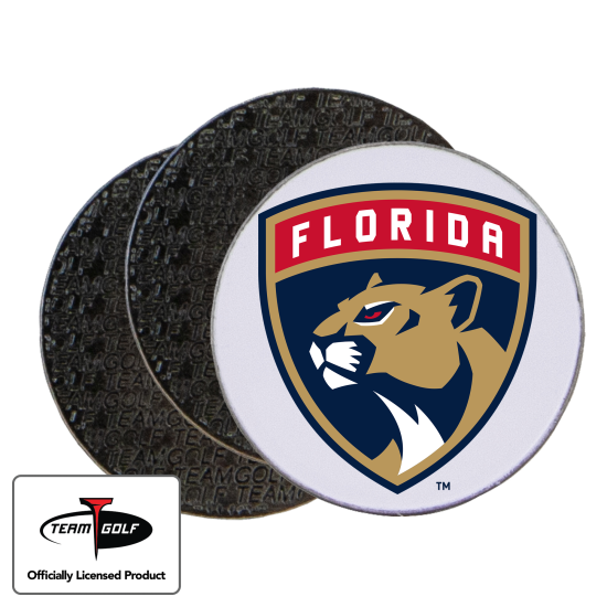 Classic Florida Panthers Ball Markers - 3 Pack