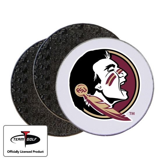Classic Florida State Seminoles Ball Markers - 3 Pack