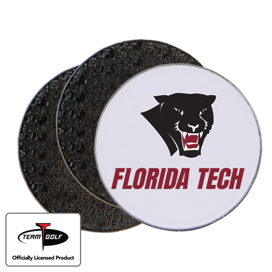 Classic Florida Tech Panthers Ball Markers - 3 Pack