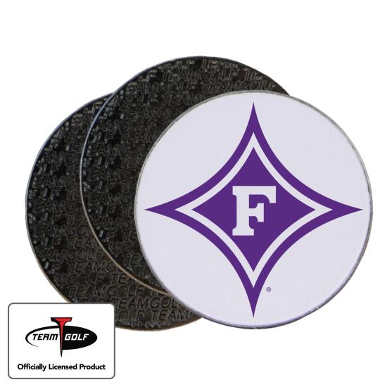 Classic Furman Paladins Ball Markers - 3 Pack