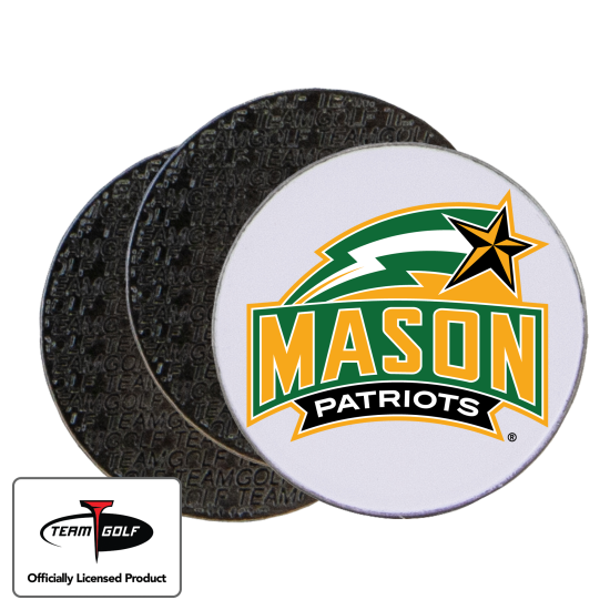 Classic George Mason Patriots Ball Markers - 3 Pack