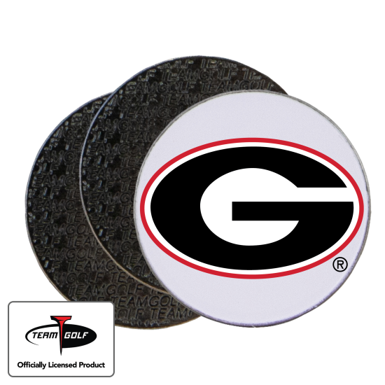 Classic Georgia Bulldogs Ball Markers - 3 Pack
