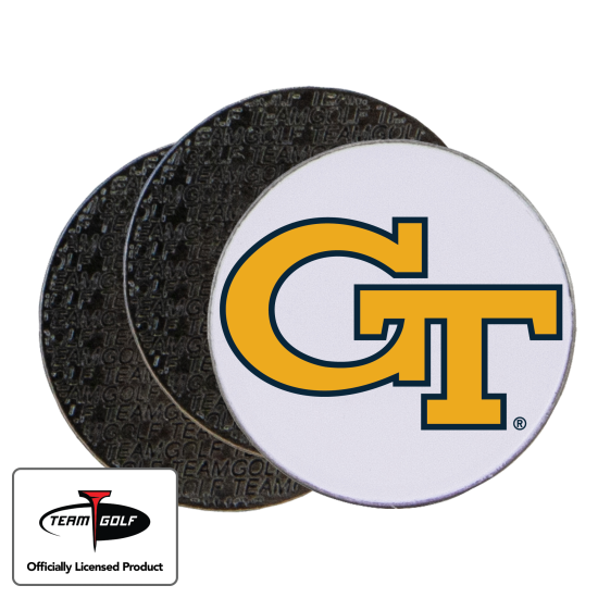 Classic Georgia Tech Ball Markers - 3 Pack