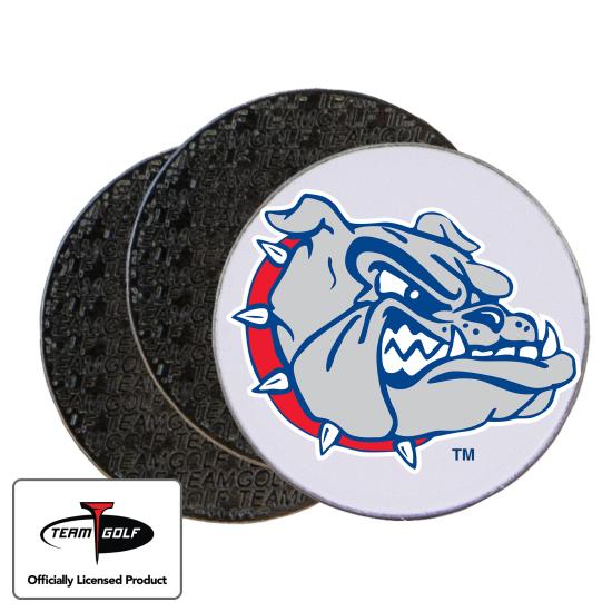 Classic Gonzaga Bulldogs Ball Markers - 3 Pack