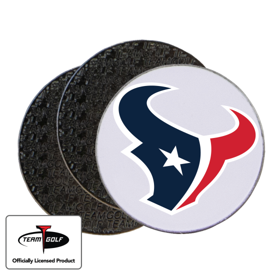 Classic Houston Texans Ball Markers - 3 Pack