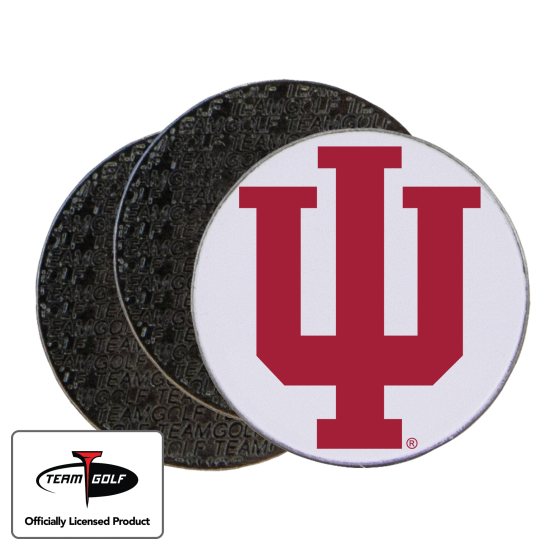 Classic Indiana Hoosiers Ball Markers - 3 Pack