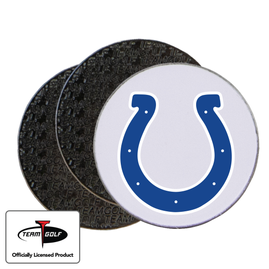 Classic Indianapolis Colts Ball Markers - 3 Pack