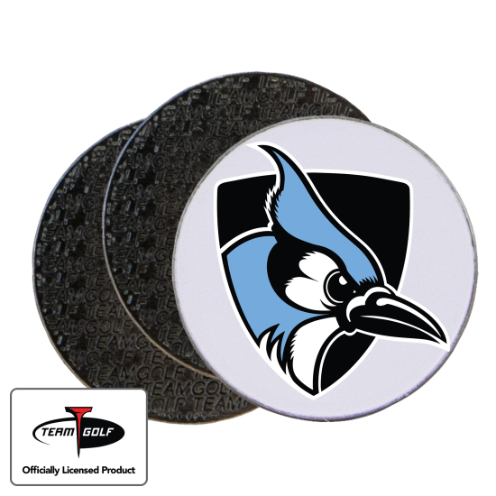 Classic Johns Hopkins Blue Jays Ball Markers - 3 Pack