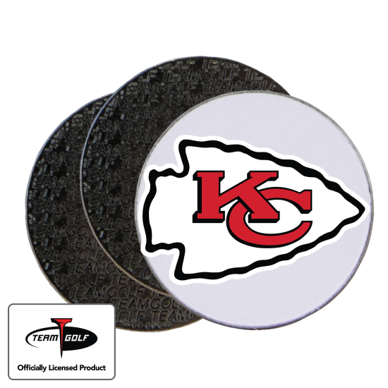 Classic Kansas City Chiefs Ball Markers - 3 Pack