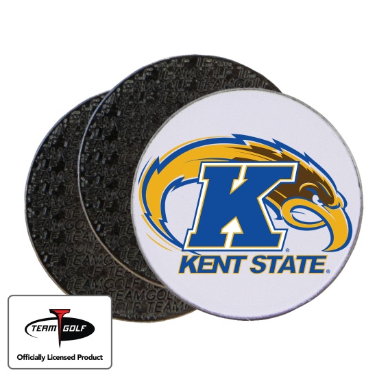 Classic Kent State Golden Flashes Ball Markers - 3 Pack
