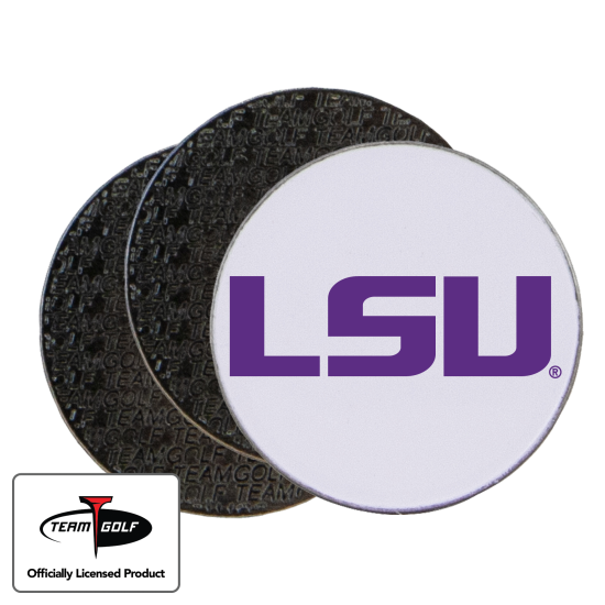 Classic LSU Tigers Ball Markers - 3 Pack
