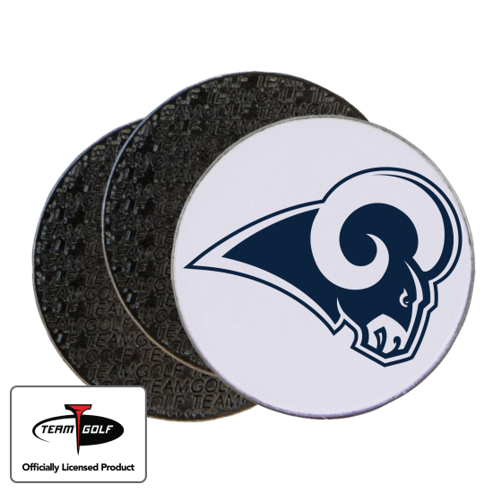 Classic Los Angeles Rams Ball Markers - 3 Pack