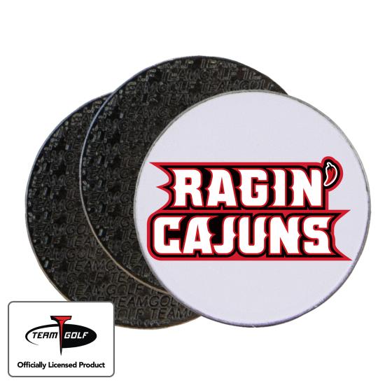 Classic Louisiana Ragin' Cajuns Ball Markers - 3 Pack