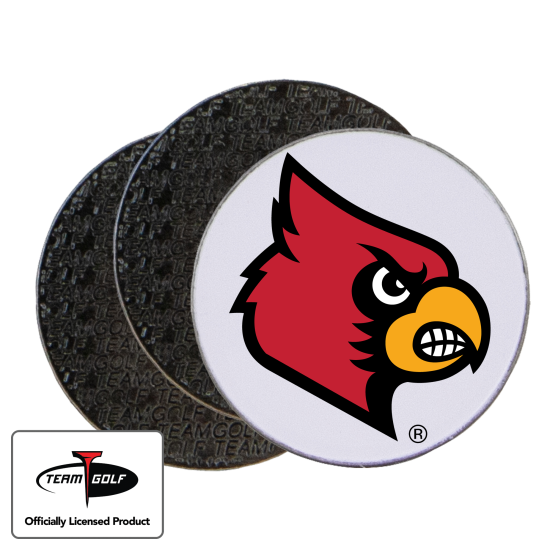 Classic Louisville Cardinals Ball Markers - 3 Pack