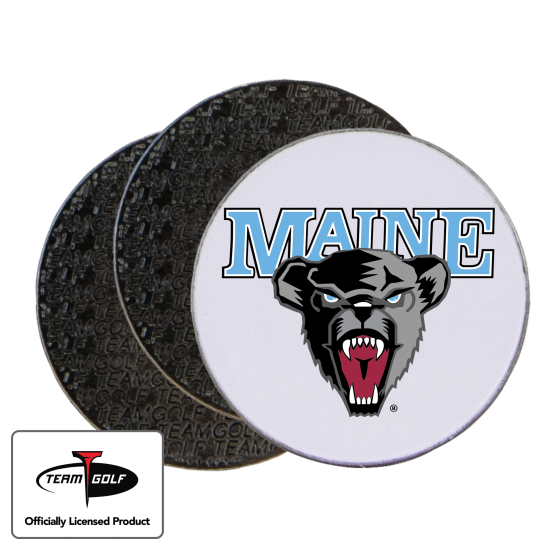 Classic Maine Black Bears Ball Markers - 3 Pack