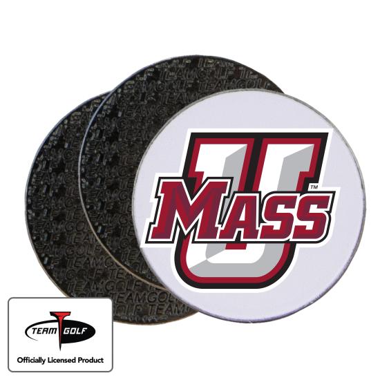 Classic UMass Minutemen Ball Markers - 3 Pack